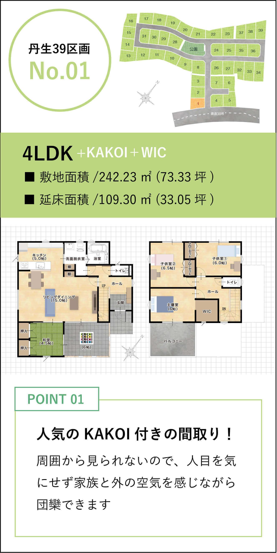 丹生39区画No.1
