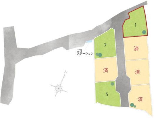 挾間町上市7区画 No.1
