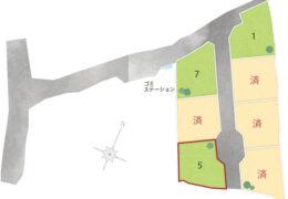 挾間町上市7区画 No.5