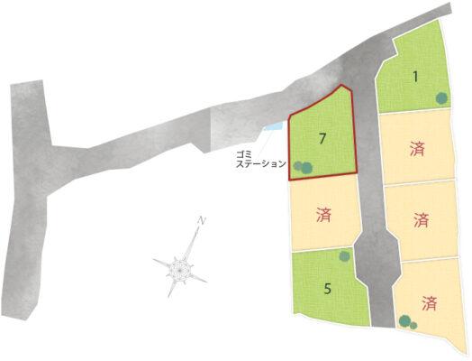 挾間町上市7区画 No.7
