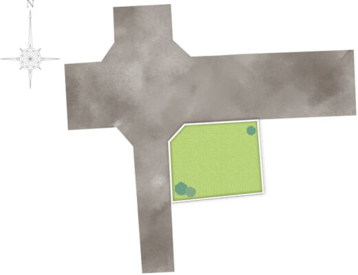 中春日町区画図