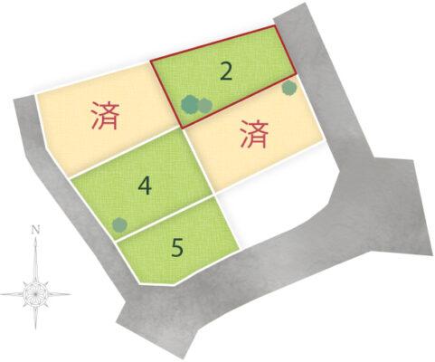 角子原5区画 No.2