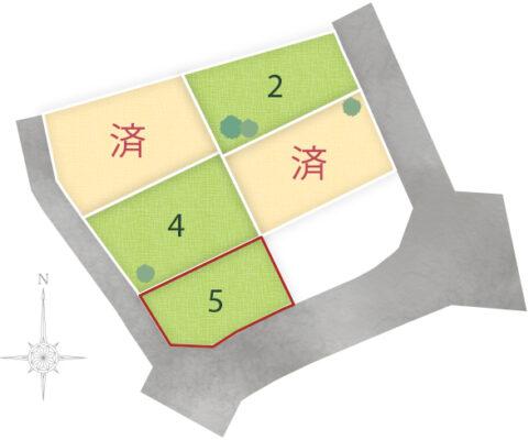 角子原5区画 No.5